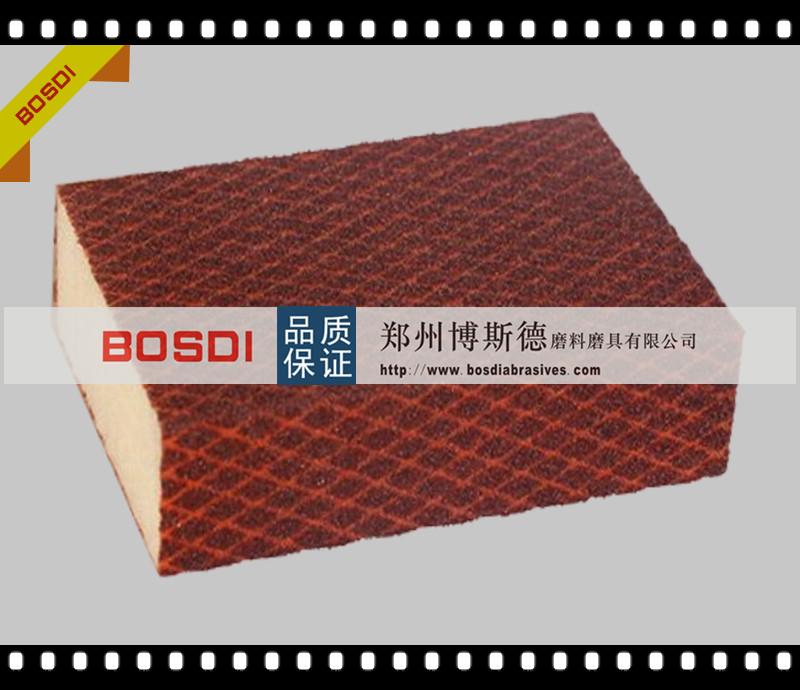BOSDI 品牌---海绵磨块-红色-32